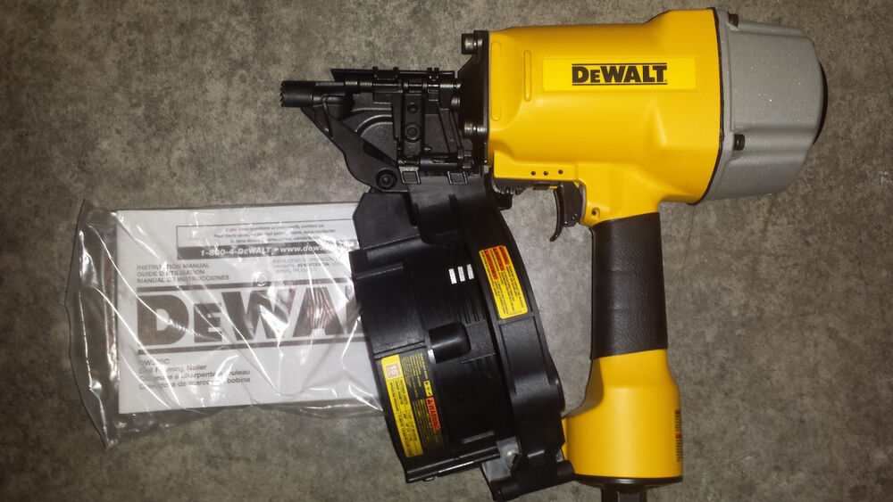 Framing Coil Nailer Dw325c Nail Gun Dewalt Version Of