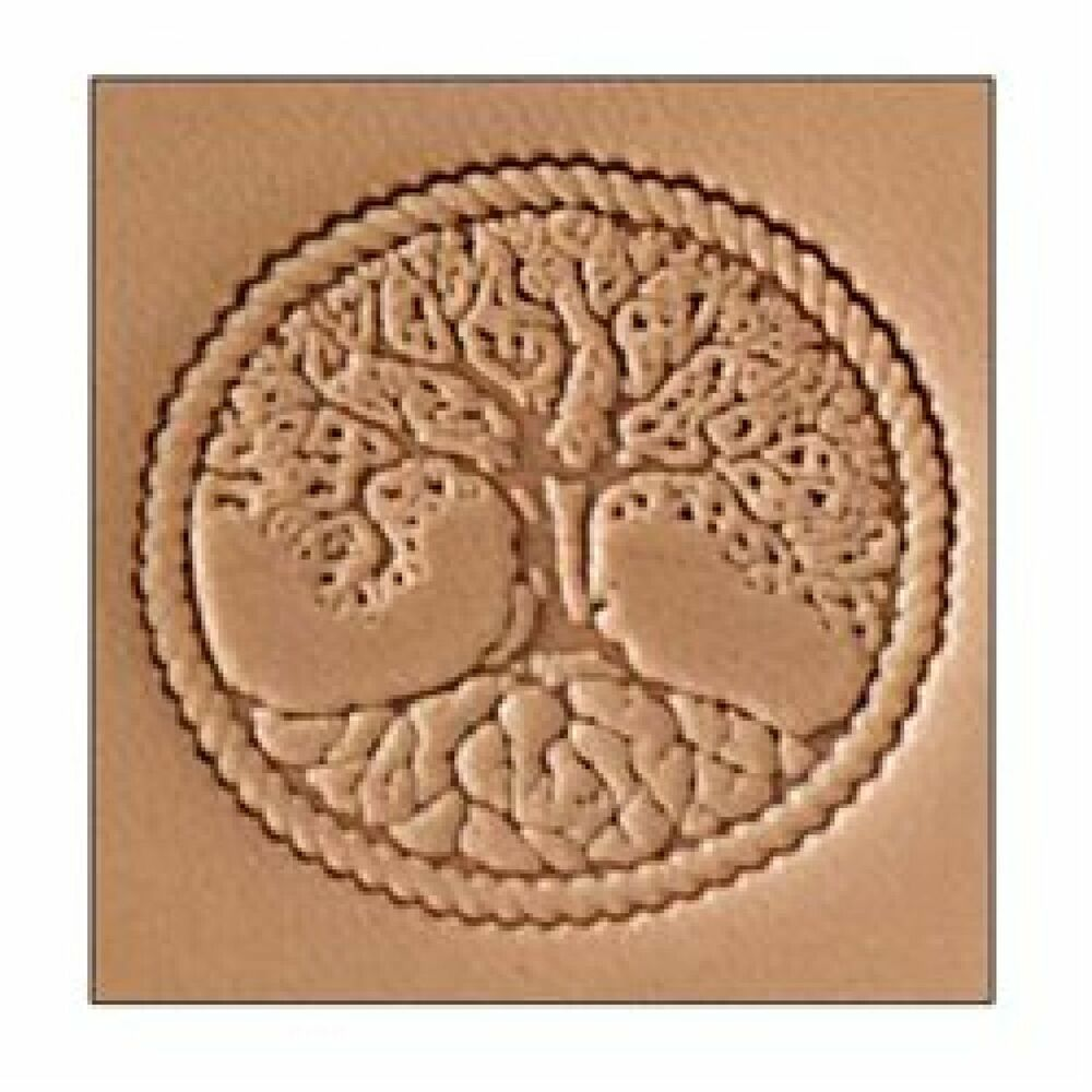 Tree of life d stamp by tandy leather ebay