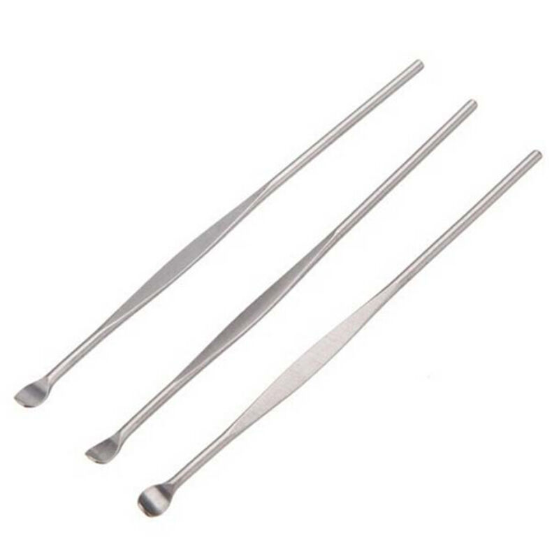 5Pcs Profession Stainless Steel Earwax Clean Ear Pick ... Ear Wax Removal Tool