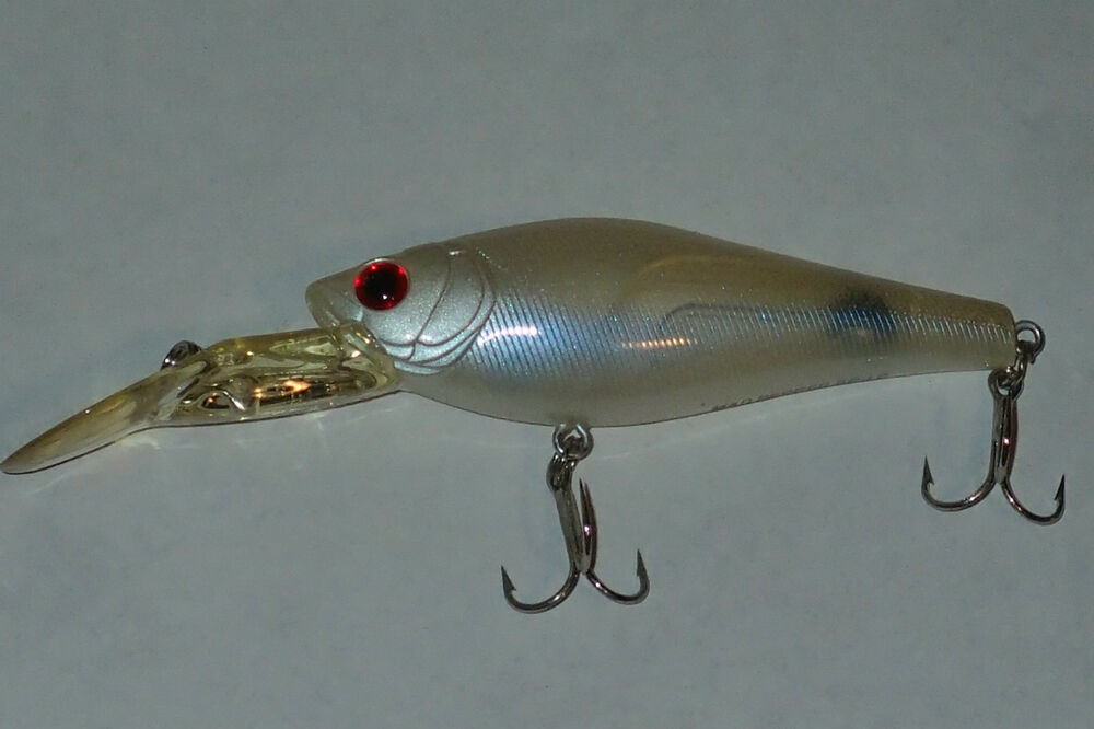 Tiemco mad pepper sp lc japan fishing lure pearl white ebay for Japanese fishing lures