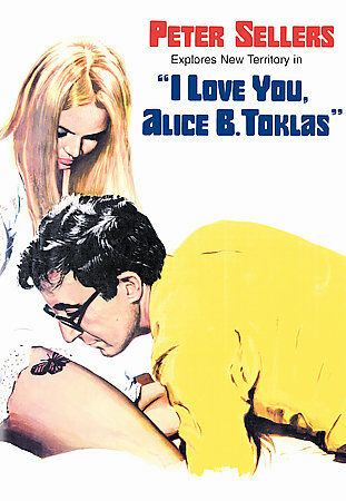 Love You, Alice B. Toklas DVD Peter Sellers Leigh Taylor-Young Paul ...