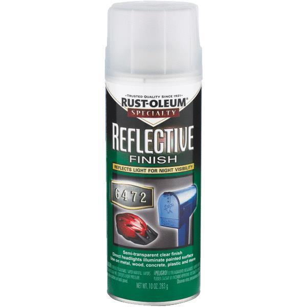 3 Pk 10 Oz Clear Rustoleum Reflective Finish Spray Enamel Paint 214944 Ebay