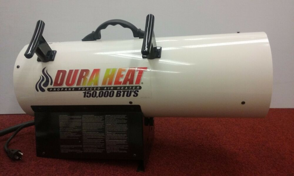 Dura heat 150 000 btu propane forced air work space heater portable construction ebay - Small propane space heater collection ...