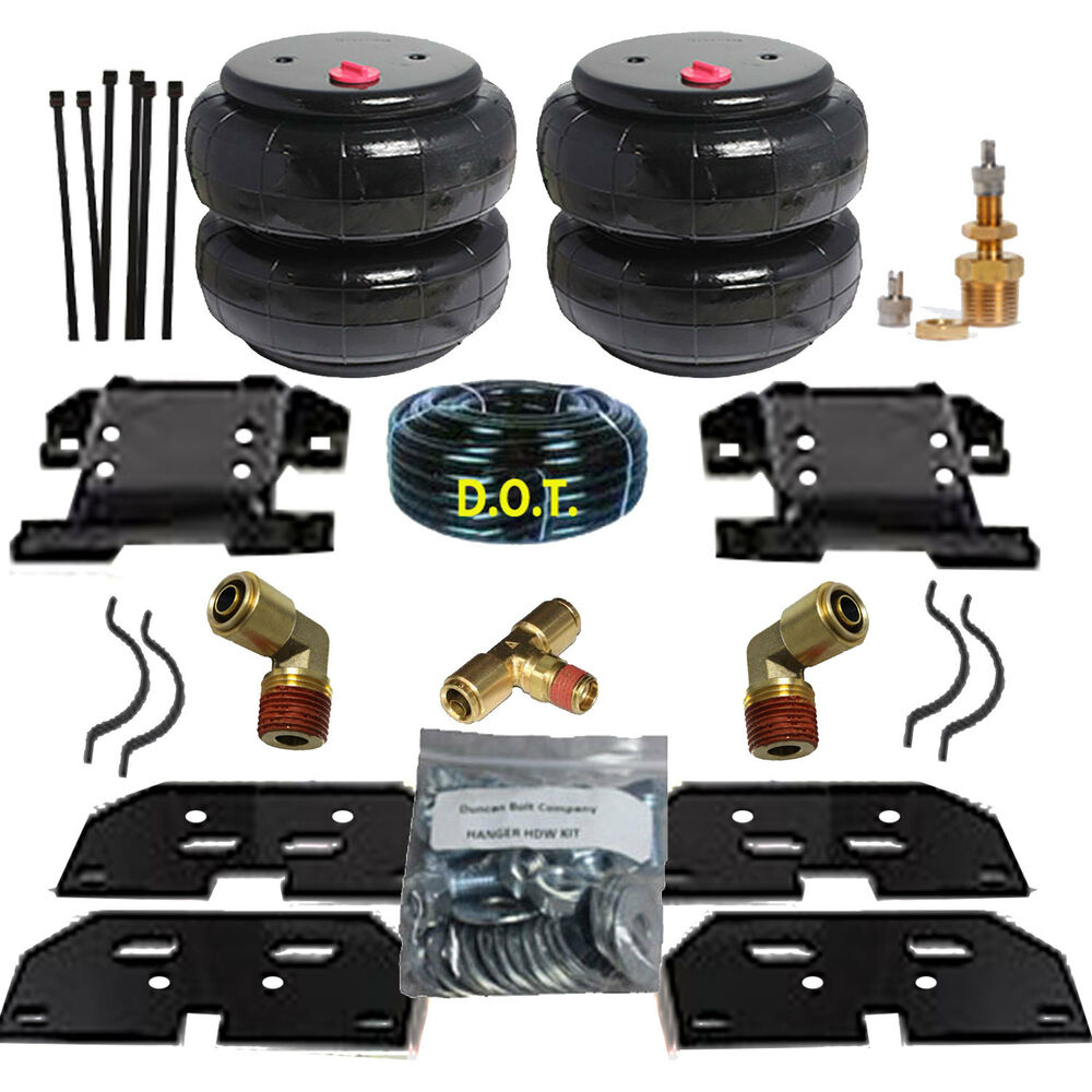 Build A 2013 3500 Kit: Chassis Tech Bolt On Air Tow Assist Kit 2003