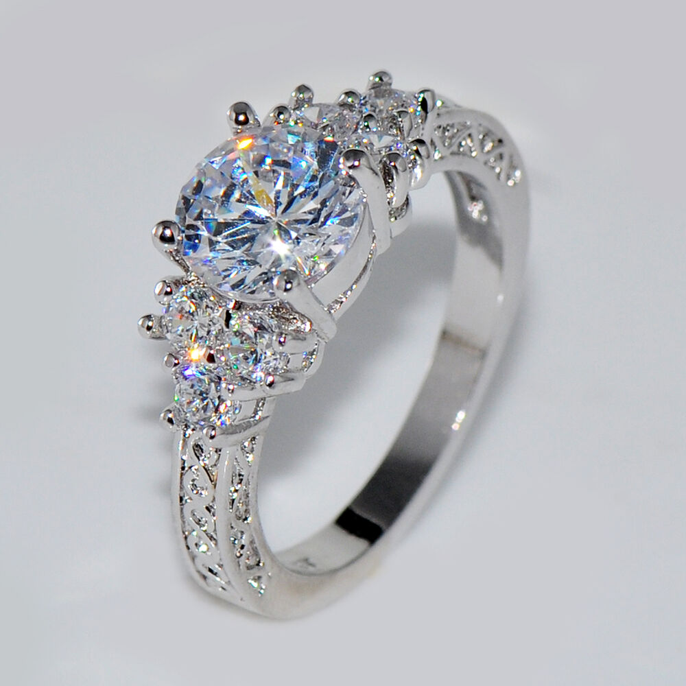 Cheap White Gold And Diamond Engagement Rings