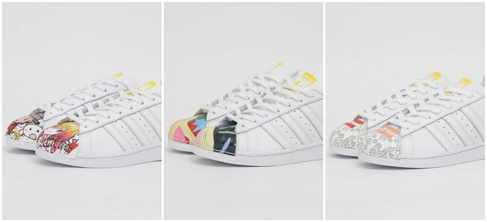 official photos 75f5c 43ee7 Adidas Originals Superstar Pharrell Supershell Leather Shoes New   eBay