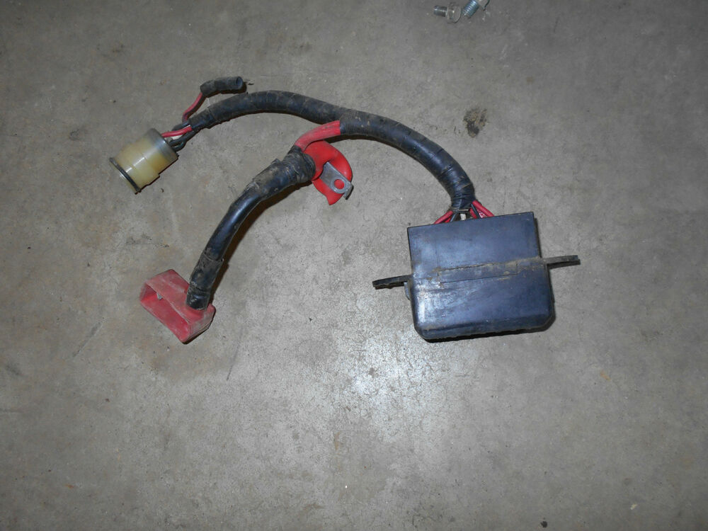 s l1000 honda trx350 fourtrax foreman 350 fuse panel box starter relay 2007 Honda Foreman at bayanpartner.co