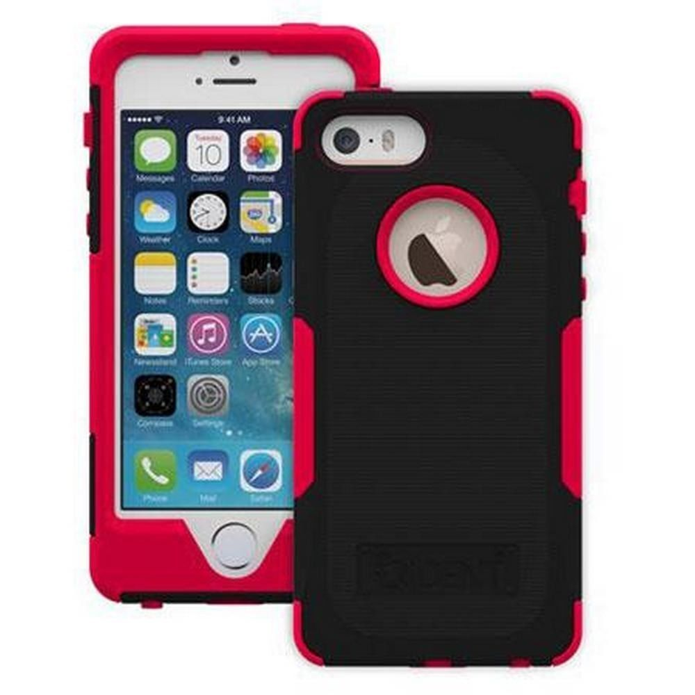 trident aegis case black red for iphone 5 iphone 5s. Black Bedroom Furniture Sets. Home Design Ideas