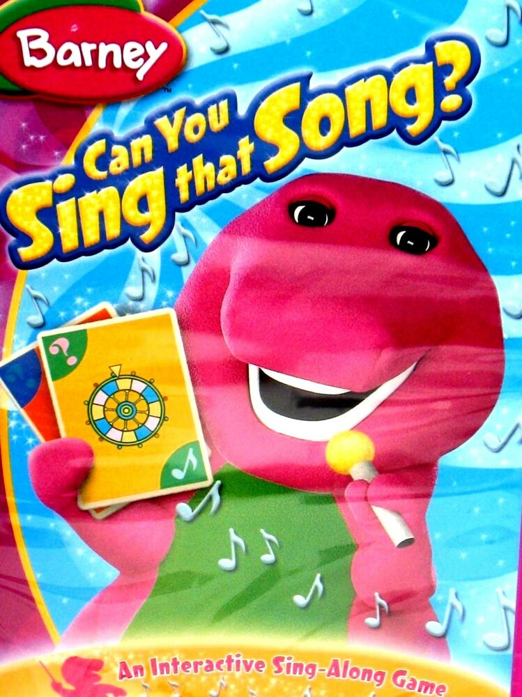 Barney - Can You Sing That Song? DVD SING ALONG GAME CHILDRENS 50 ...