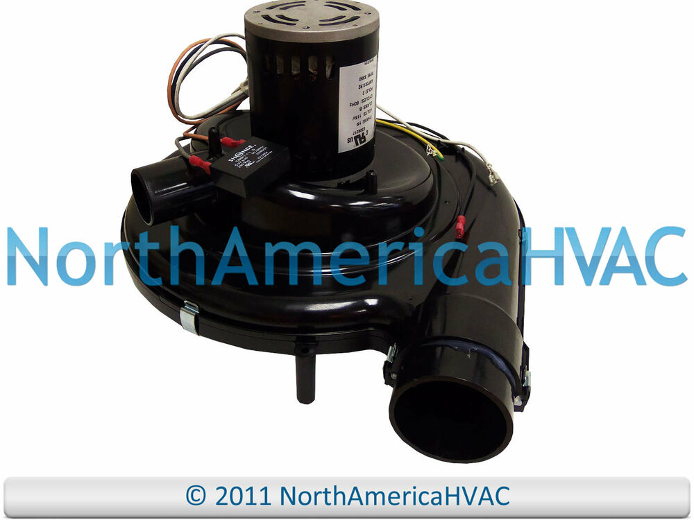 Emerson replacement furnace exhaust venter inducer motor for Furnace exhaust blower motor