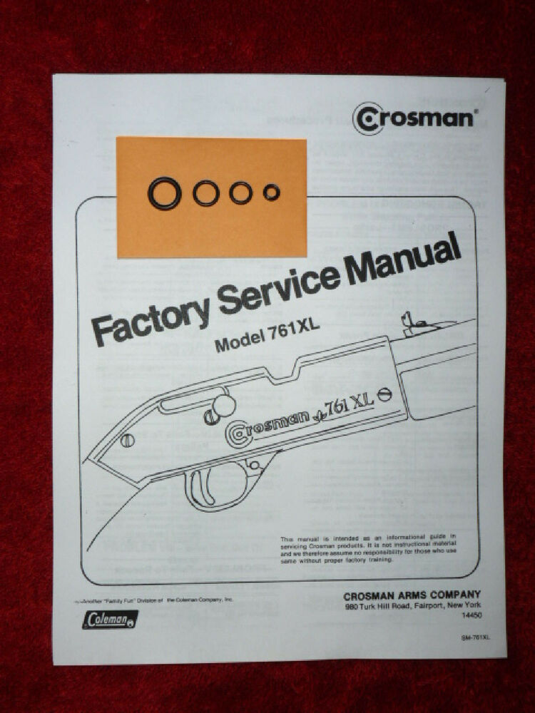 Crosman 761xl 761 Xl One  1  O