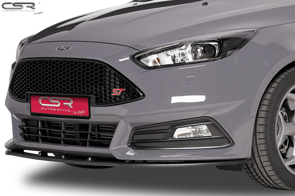 splitter front lip spoiler front bumper for ford focus st. Black Bedroom Furniture Sets. Home Design Ideas