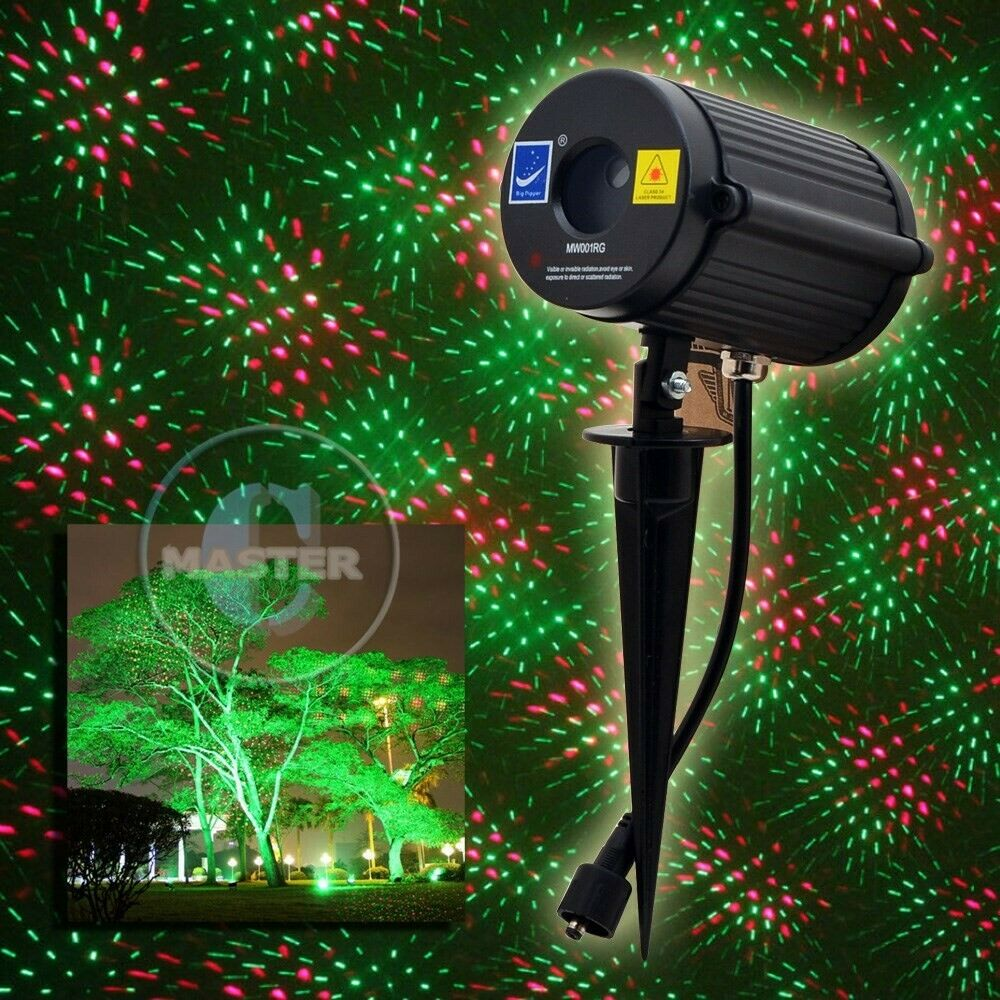 Outdoor Christmas Light Projector