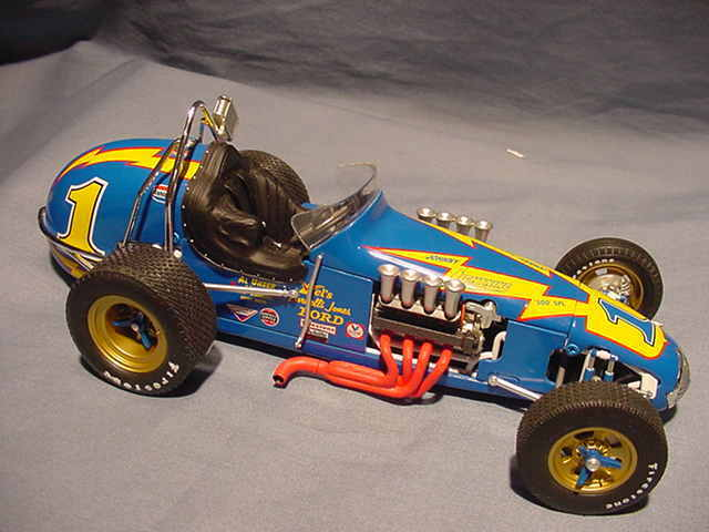 Toy Dirt Track Race Cars
