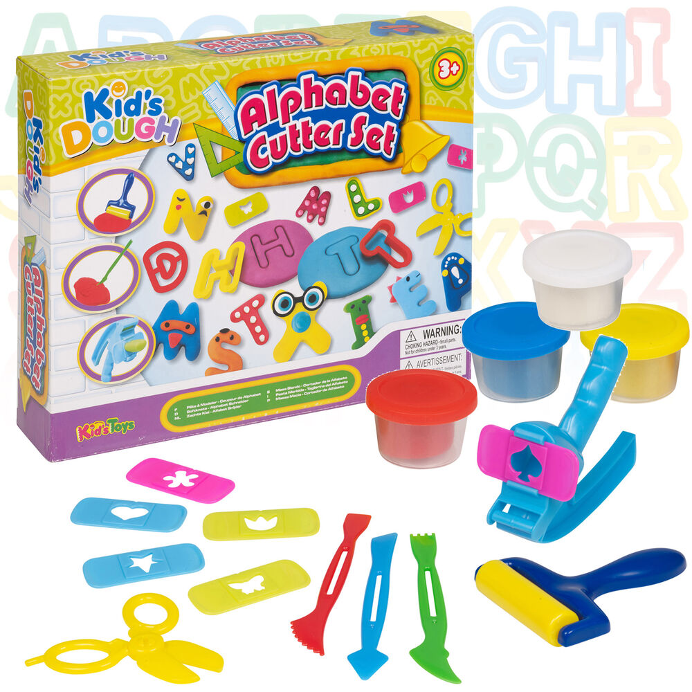 Toys For Activity : Pc alphabet cutter play dough set kids toys activity
