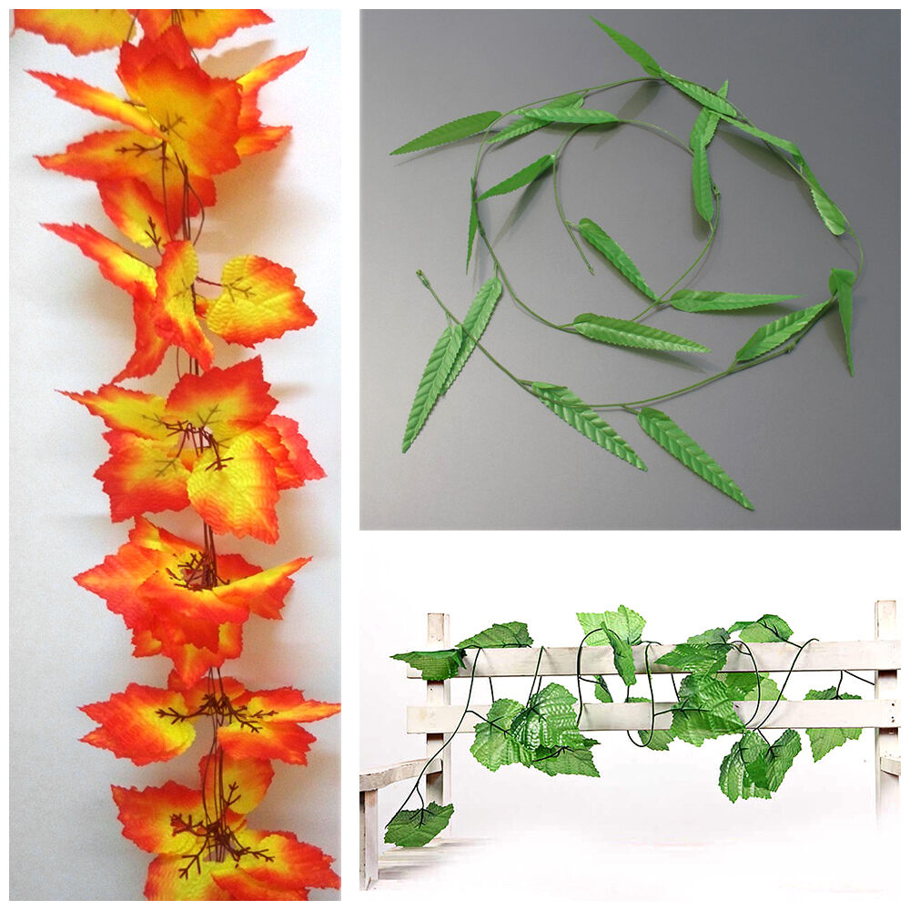 Http Www Ebay Com Itm 1 5m 3m Artificial Ivy Leaf Garland Plants Vine Fake Foliage Flowers Home Decor 371499225777