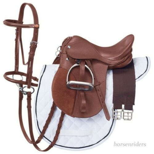 18-inch-all-purpose-english-saddle-package-medium-chestnut-all-leather