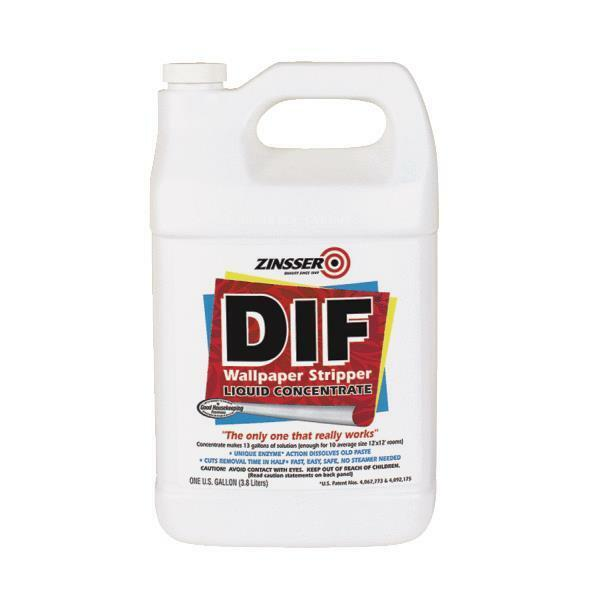 4 Gal Ready-To-Use Zinsser DIF Wallpaper Remove Remover ...