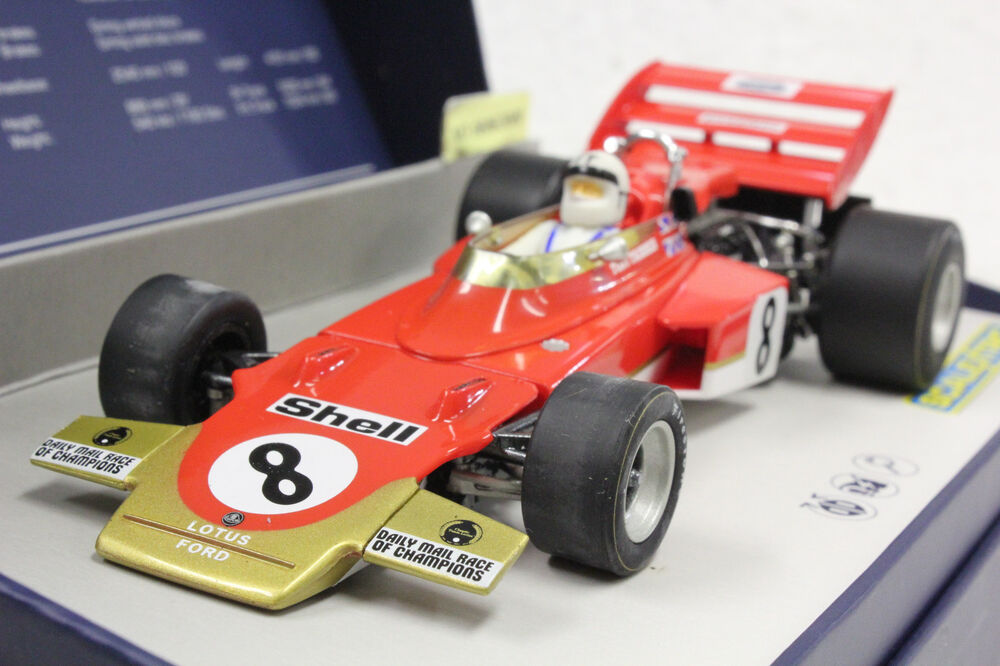 Scalextric C3657a Lotus 72 F1 1971 Serial Number Limited