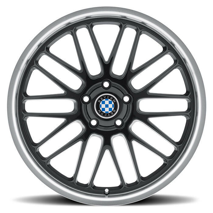 17 Quot Black Beyern Mesh Wheels Rims 5x120 Bmw 3 Series E46