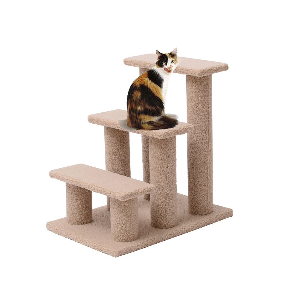 High Stability Cat's Tree Tower Condo Scratcher Home Furniture Pets House Hammock Furniture Pets
