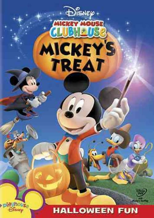 MICKEY MOUSE CLUBHOUSE - MICKEY'S TREAT USED - VERY GOOD ...