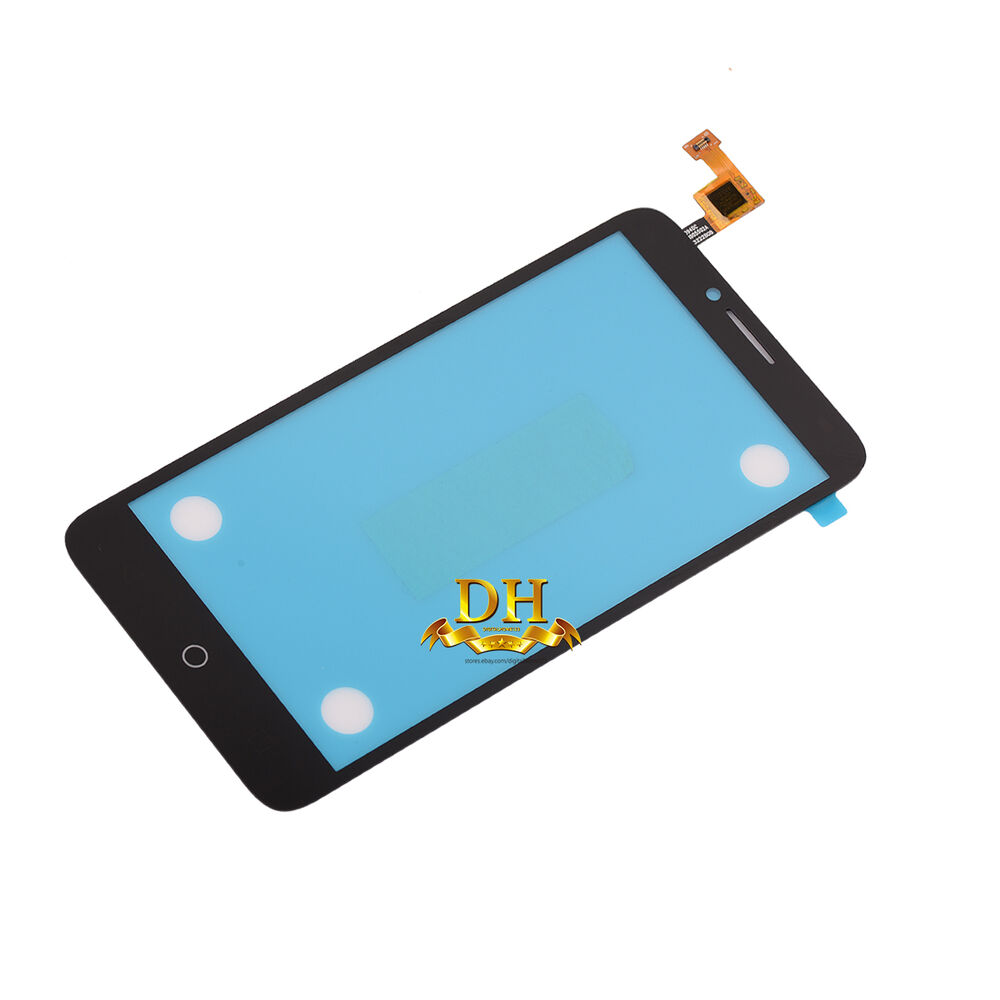 how to change phone message alcatel one touch