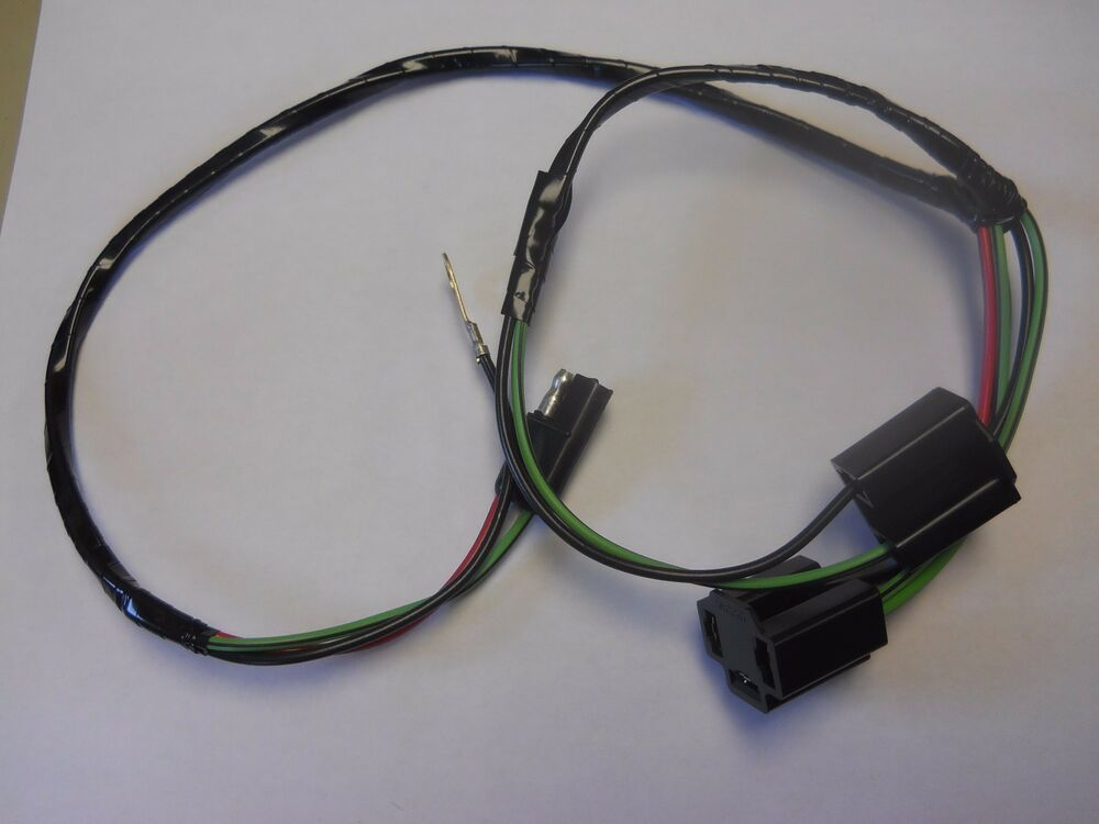 1966 1967 ford fairlane or ranchero headlight extension ... ford fairlane wiring harness