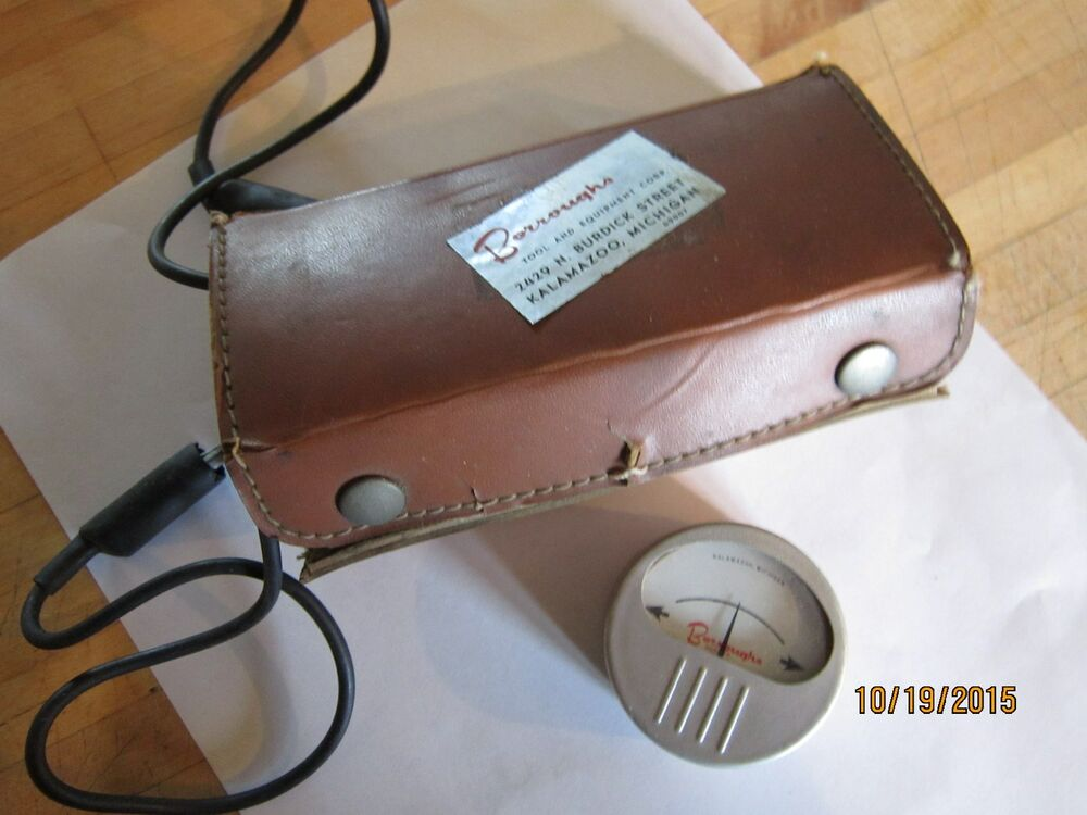 vintage sun electric battery tester