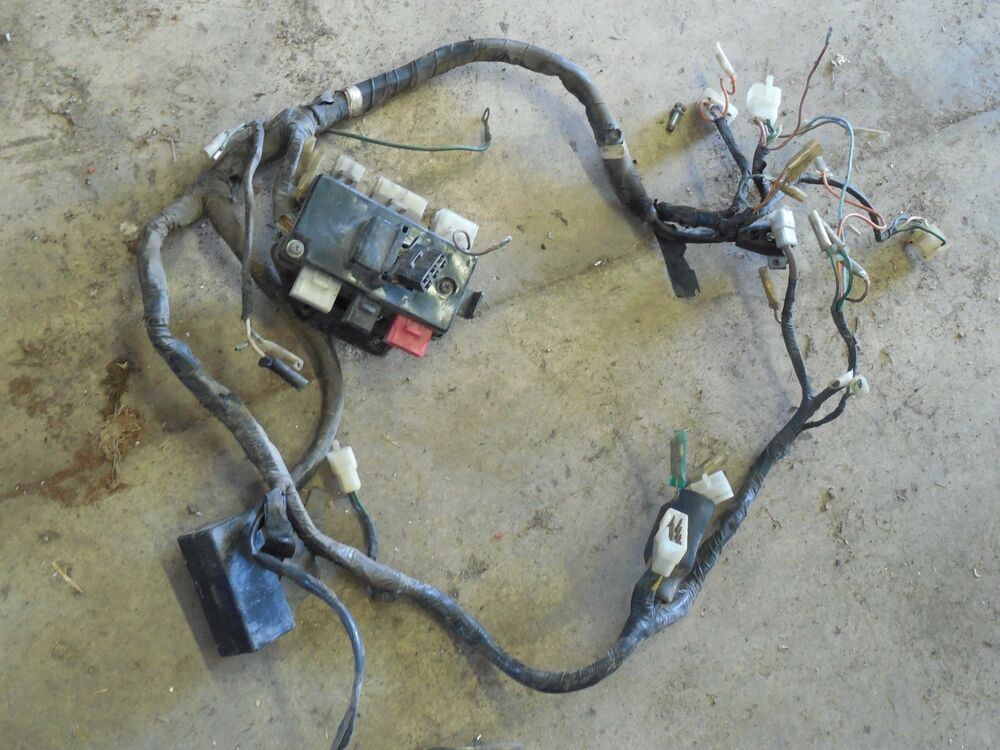 Honda Gl1000 Goldwing 1000 Main Wiring Wire Harness Loom