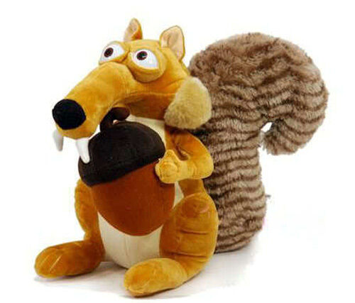 Toys From Ice Age 1 : Animal doll ice age scrat squirrel stuffed plush toy