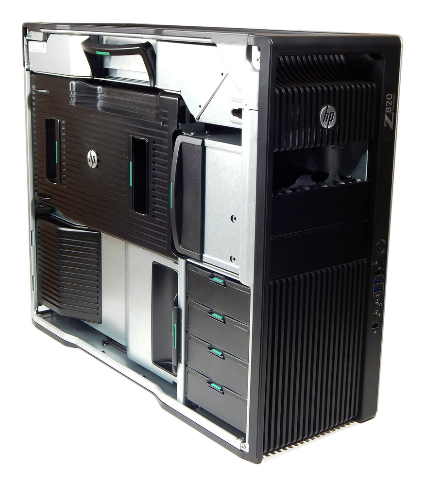 Hp Z820 Chassis With 850w Power Supply New 642163 003 Ebay