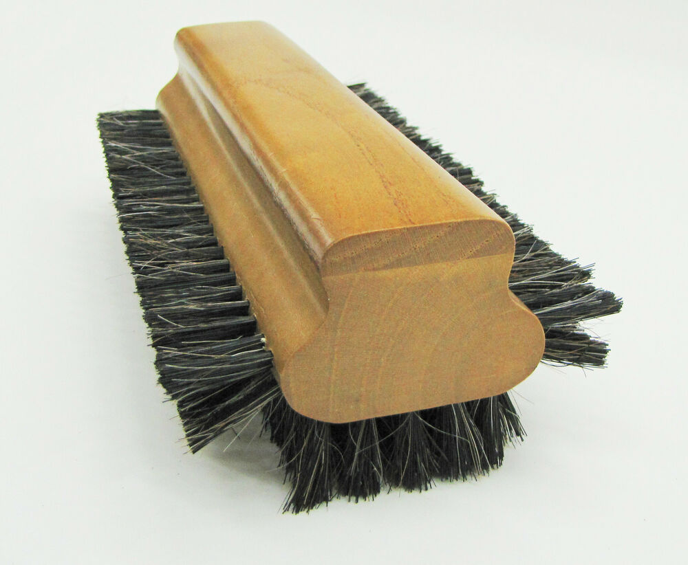 how to clean horse hair brush