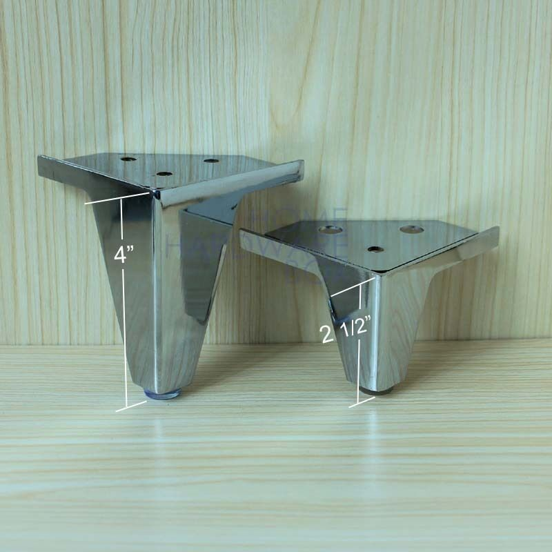 Furniture Legs Cabinet Corner Stand Metal Stainless Steel