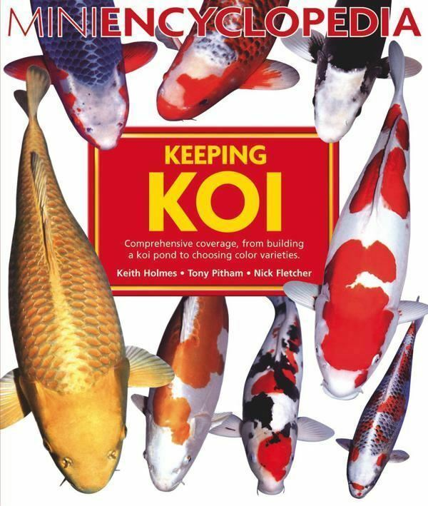 Mini encyclopedia koi keeping book build a pond filter for Keeping koi carp