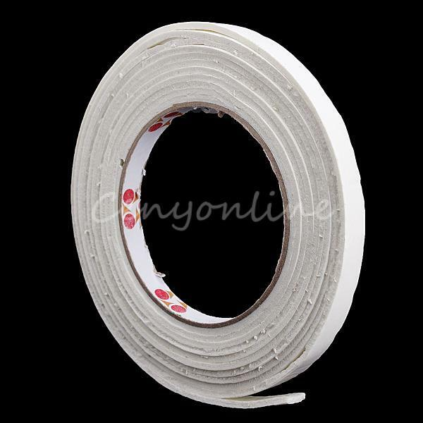 5m Double Side Self Adhesive Foam Strip Weather Draught