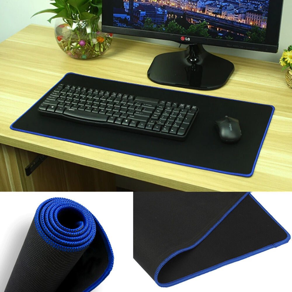 Large Long Rubber Sift Surface Computer Gaming Mouse Mat