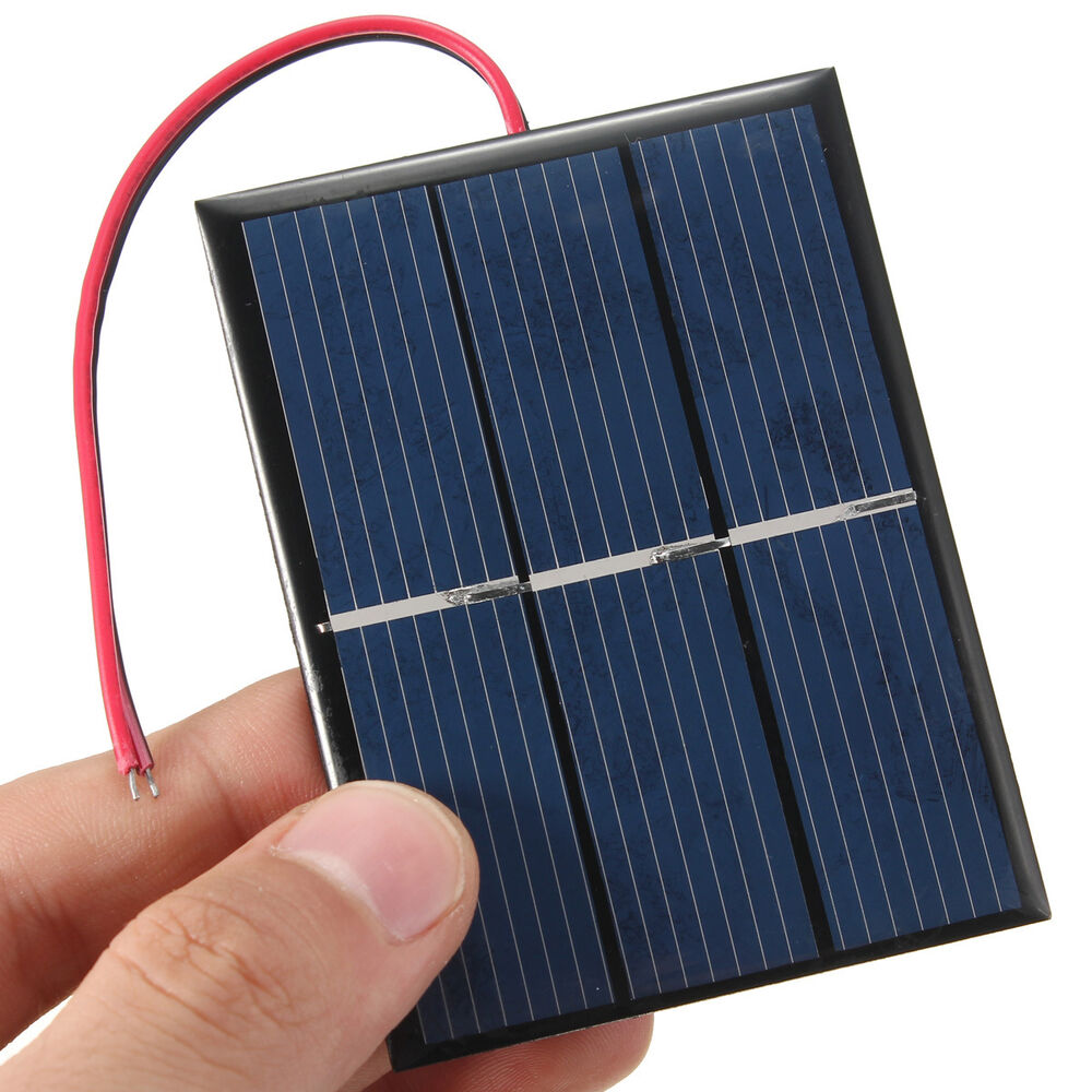 0 65w 1 5v 0 300ma Solar Panel Module For Charger Battery
