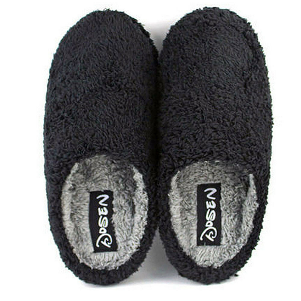 Mens Indoor Slippers Warm Winter Slipper Casual Home House ...