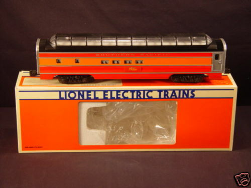 new lionel 6 19107 sp southern pacific painted alum vista dome passenger car nib ebay. Black Bedroom Furniture Sets. Home Design Ideas