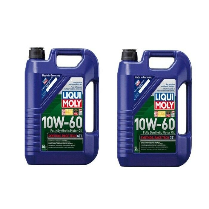 7 liters engine oil liqui moly race tech 10w 60 synthetic. Black Bedroom Furniture Sets. Home Design Ideas