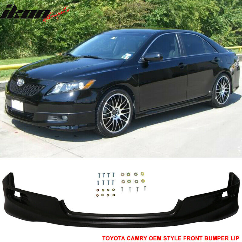 fits 07 09 toyota camry oe factory se style front bumper. Black Bedroom Furniture Sets. Home Design Ideas