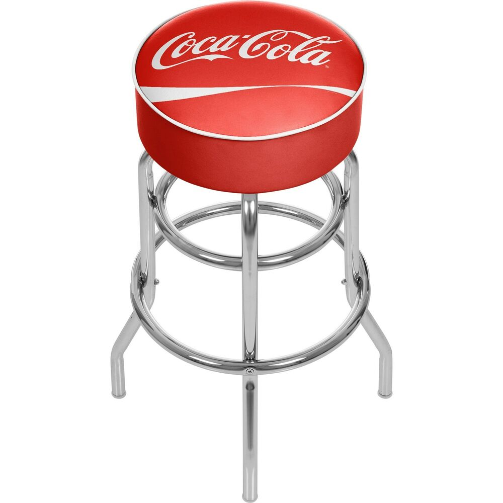 Officially Licensed Coca Cola174 Padded Bar Stool  : s l1000 from www.ebay.com size 1000 x 1000 jpeg 56kB