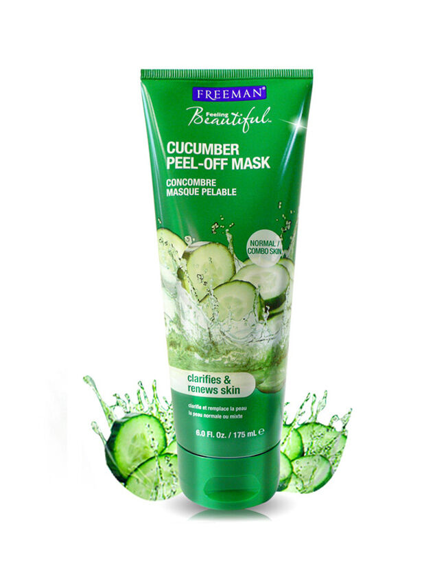 All? cucumber facial peel