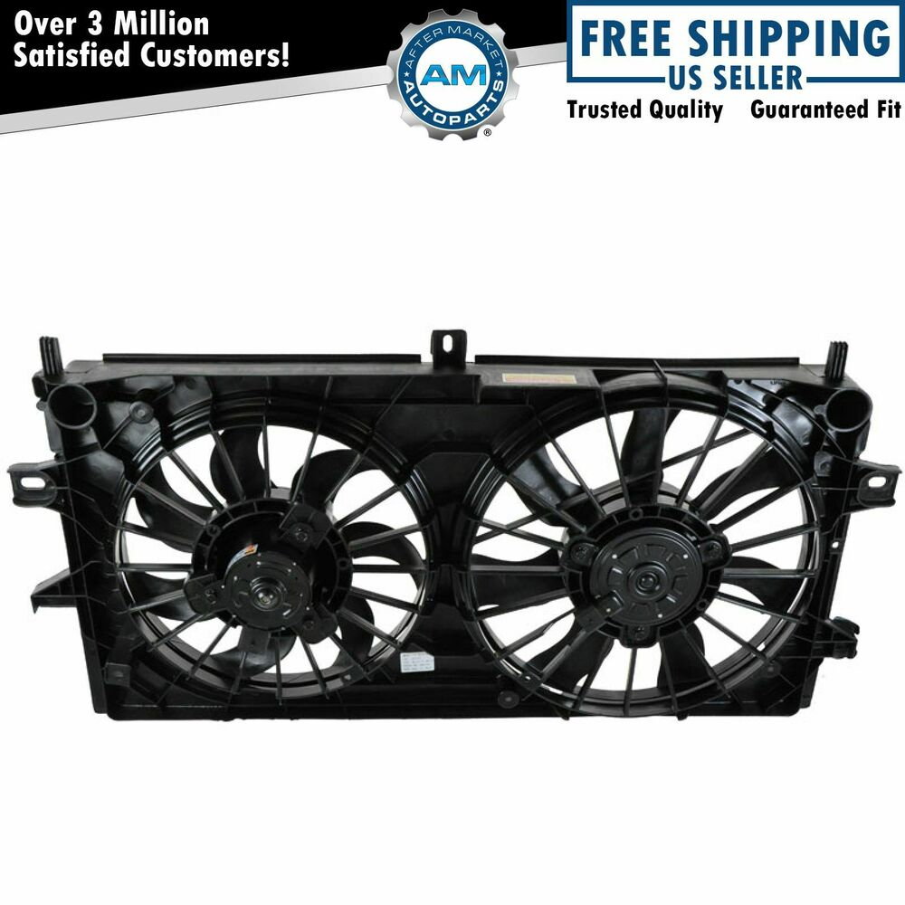 67 72 Chevy Truck Parts >> Dual Radiator Cooling Motor Blade Shroud Fan for Impala ...