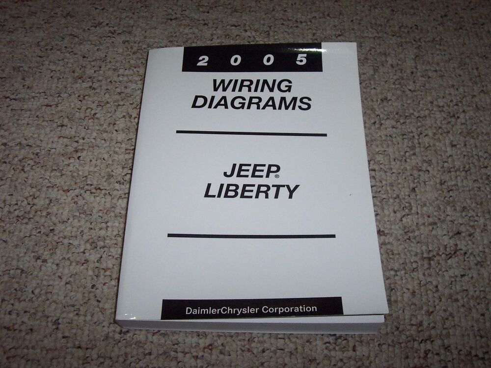 2005 Jeep Liberty Electrical Wiring Diagram Manual Sport