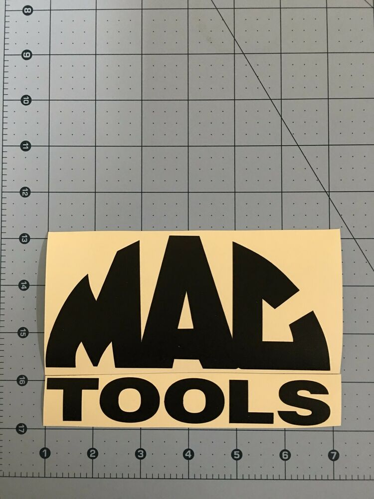 Mac Tools Logo Matte Black Decal Sticker 7 0 Quot 9 0 Quot 11 0