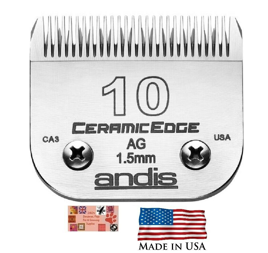 Andis Ag Ceramicedge 10 Blade Fit Oster A5 Most Wahl Laube