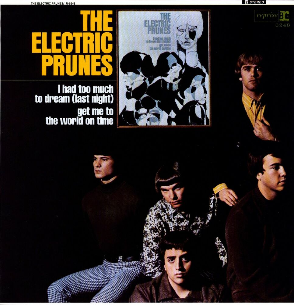 Electric Prunes Self Titled I Had Too Much To Dream 180g