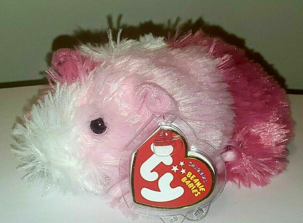Details about Ty Beanie Baby ~ PINKY the Guinea Pig (2010 Version)(5.5  Inch) MWMT fbc42000d42